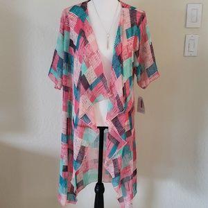 Lularoe Shirley Kimono Coverup Wrap NWT